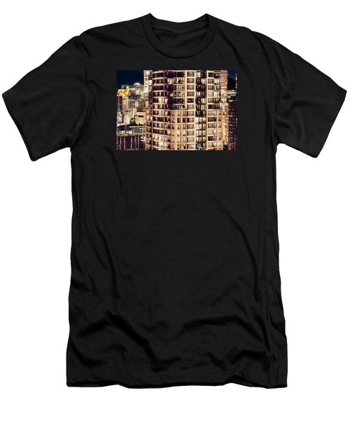 Men's T-Shirt (Slim Fit) featuring the photograph Urban Living Dclxxiv By Amyn Nasser by Amyn Nasser