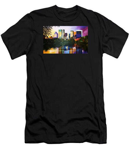 Urban Reflections Men's T-Shirt (Slim Fit) by Al Brown