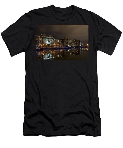 Urban River Reflected Men's T-Shirt (Athletic Fit)