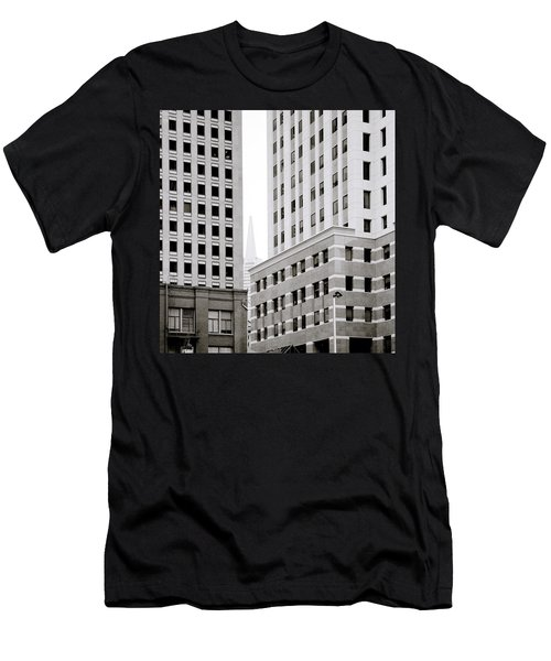 Urban San Francisco Men's T-Shirt (Slim Fit) by Shaun Higson