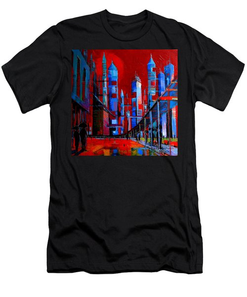 Urban Vision - City Of The Future Men's T-Shirt (Athletic Fit)