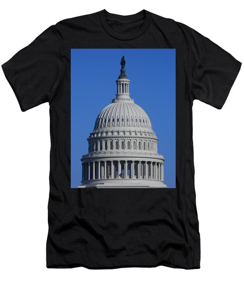 Us Capitol Dome Men's T-Shirt (Athletic Fit)