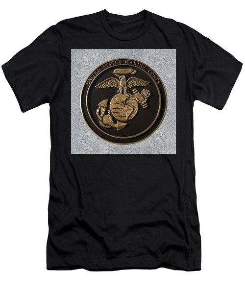 Us Marine Corps Men's T-Shirt (Athletic Fit)