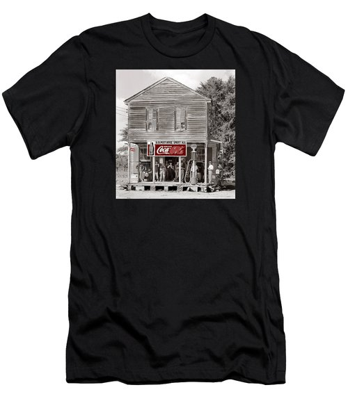 U.s. Post Office General Store Coca-cola Signs Sprott  Alabama Walker Evans Photo C.1935-2014. Men's T-Shirt (Athletic Fit)