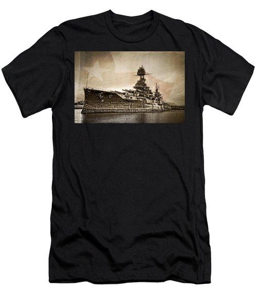 U.s.s. Texas Men's T-Shirt (Athletic Fit)