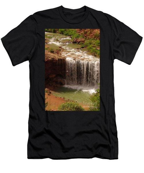 Vacation At Lower Navajo Falls Men's T-Shirt (Athletic Fit)