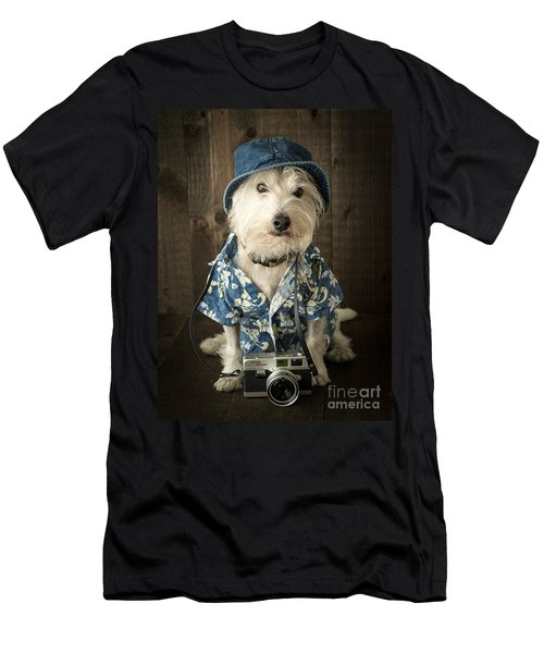 Vacation Dog Men's T-Shirt (Athletic Fit)