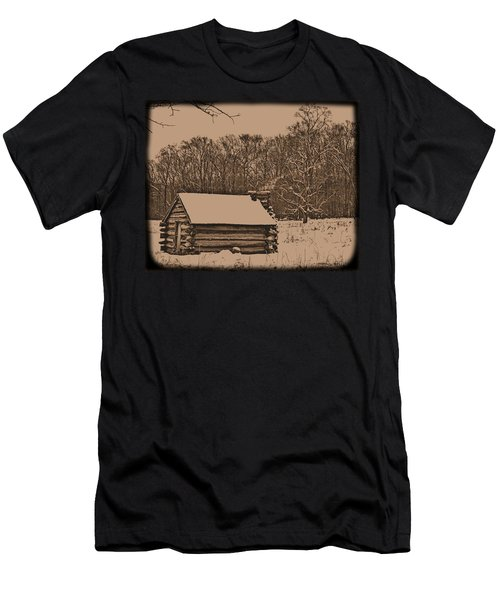 Valley Forge Winter 1 Men's T-Shirt (Athletic Fit)