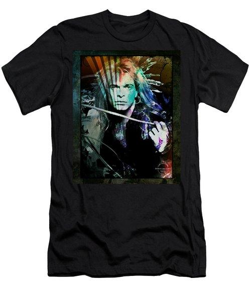 Van Halen - David Lee Roth Men's T-Shirt (Athletic Fit)