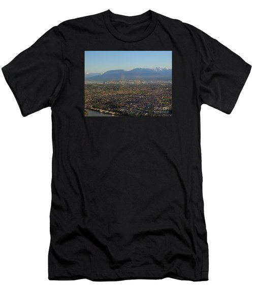 Vancouver At A Glance Men's T-Shirt (Athletic Fit)