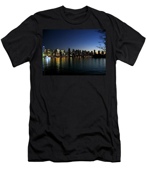 Men's T-Shirt (Athletic Fit) featuring the photograph Vancouver Skyline by Will Borden