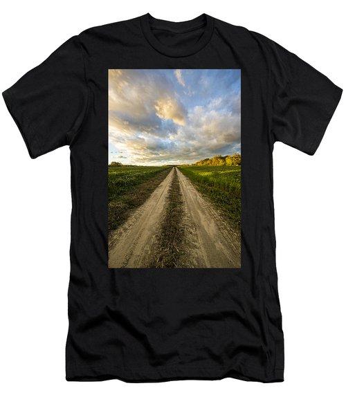 Vanishing Point Men's T-Shirt (Athletic Fit)