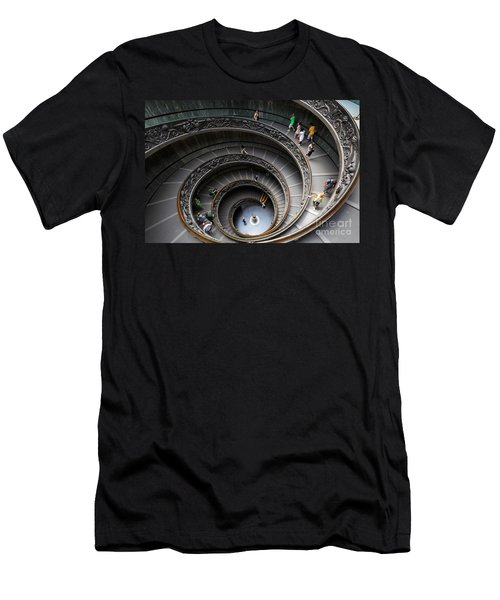 Vatican Spiral Staircase Men's T-Shirt (Athletic Fit)