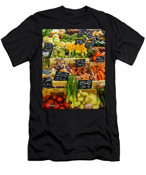 Veg At Marche Provencal Men's T-Shirt (Athletic Fit)