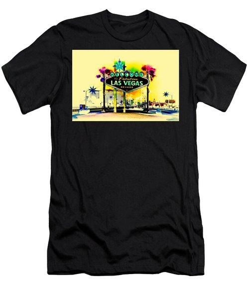 Vegas Weekends Men's T-Shirt (Athletic Fit)