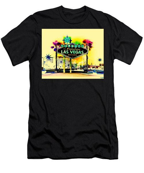 Vegas Weekends Men's T-Shirt (Athletic Fit)