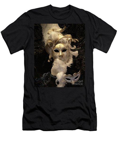 Venetian Face Mask B Men's T-Shirt (Athletic Fit)