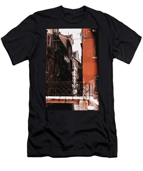 Men's T-Shirt (Slim Fit) featuring the photograph A Chapter In Venice by Ira Shander