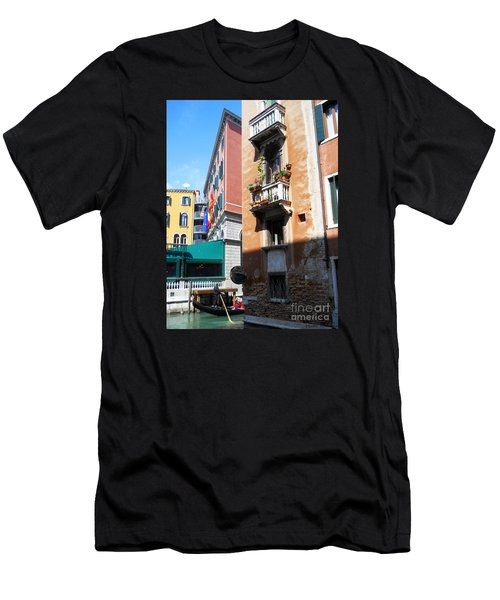 Men's T-Shirt (Slim Fit) featuring the photograph Venice Series 6 by Ramona Matei