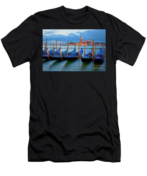 Venice View To San Giorgio Maggiore Men's T-Shirt (Athletic Fit)