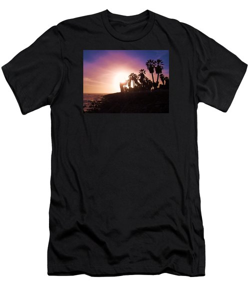 Ventura Beach Sunset Men's T-Shirt (Athletic Fit)