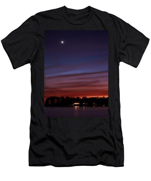 Venus And Mercury Men's T-Shirt (Athletic Fit)