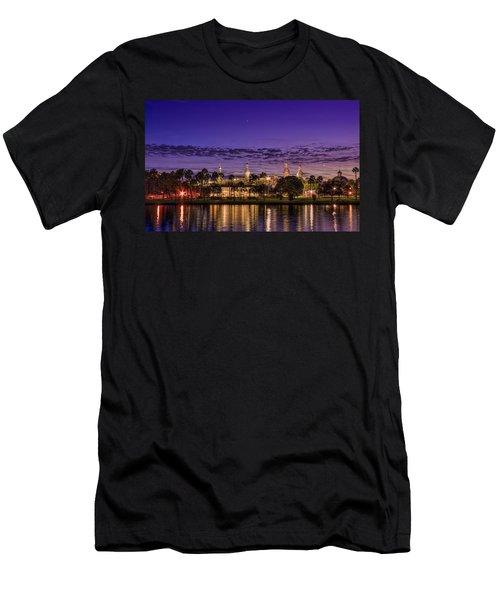 Venus Over The Minarets Men's T-Shirt (Athletic Fit)