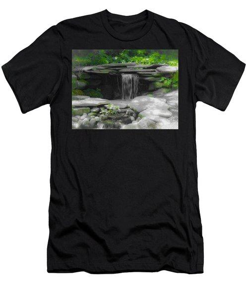 Verde Falls Men's T-Shirt (Athletic Fit)