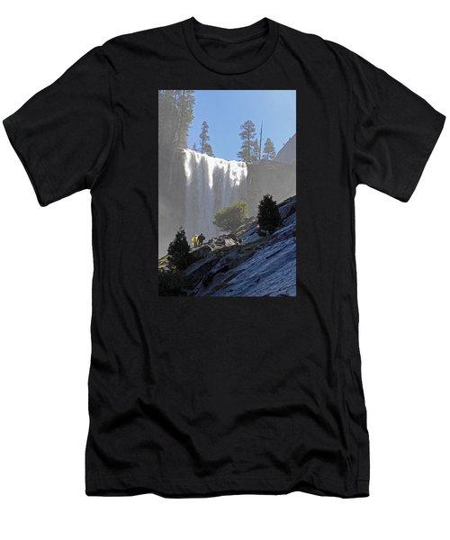 Vernal Falls Mist Trail Men's T-Shirt (Athletic Fit)