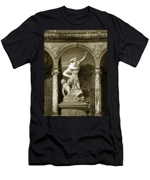 Versailles Colonnade And Sculpture Men's T-Shirt (Athletic Fit)