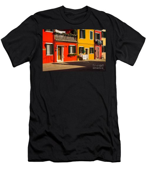 Vibrant Burano Men's T-Shirt (Athletic Fit)