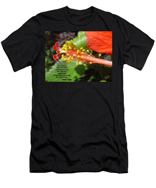Victor Hugo Men's T-Shirt (Athletic Fit)
