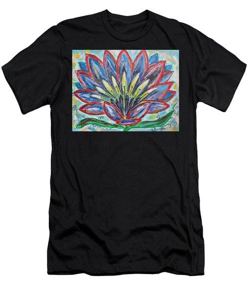 Hawaiian Blossom Men's T-Shirt (Athletic Fit)