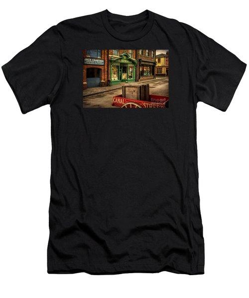 Victorian Town Men's T-Shirt (Athletic Fit)