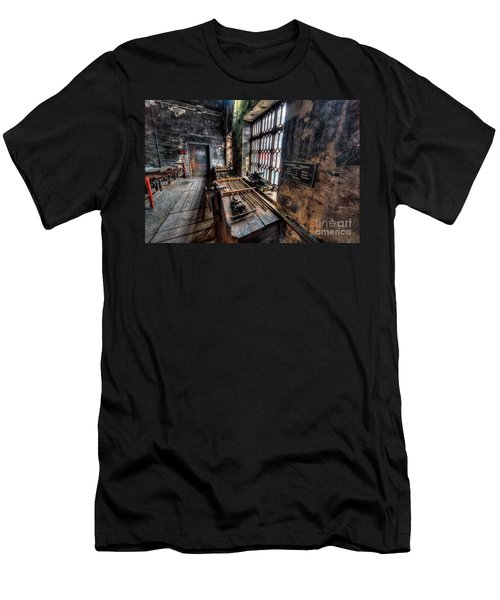 Victorian Workshops Men's T-Shirt (Slim Fit) by Adrian Evans
