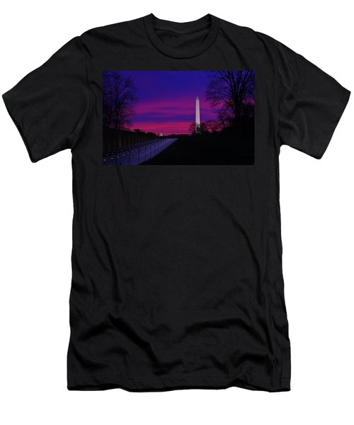 Vietnam Memorial Sunrise Men's T-Shirt (Athletic Fit)