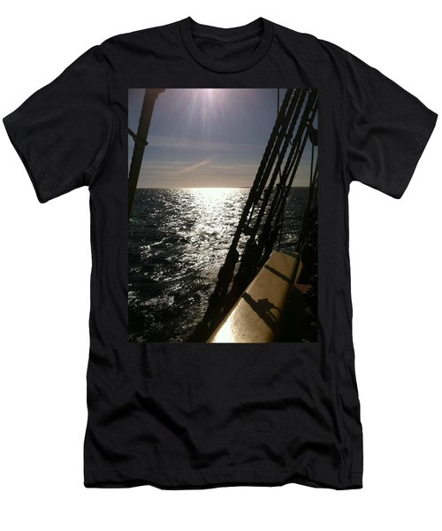Men's T-Shirt (Athletic Fit) featuring the photograph View From Lady Washington by Deahn      Benware