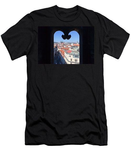 View From Prasna Brana Tower Men's T-Shirt (Athletic Fit)
