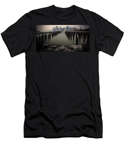 View From The Rocks Men's T-Shirt (Athletic Fit)