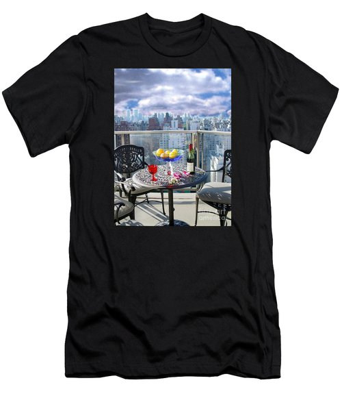 View From The Terrace Men's T-Shirt (Athletic Fit)