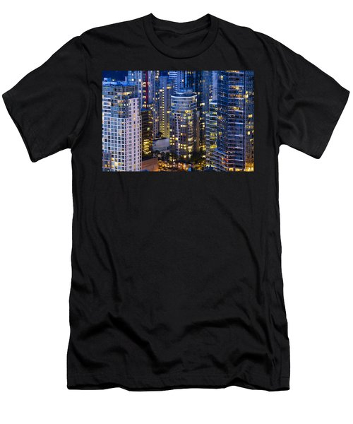 View Towards Coal Harbor Vancouver Mdxxvii  Men's T-Shirt (Athletic Fit)