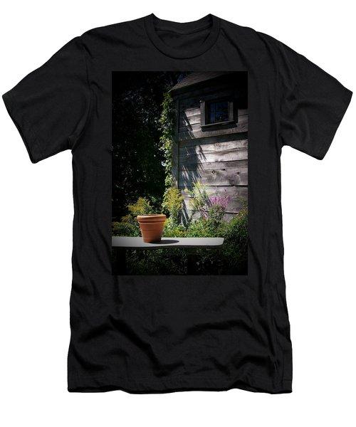 Men's T-Shirt (Slim Fit) featuring the digital art Villagio by Barbara S Nickerson
