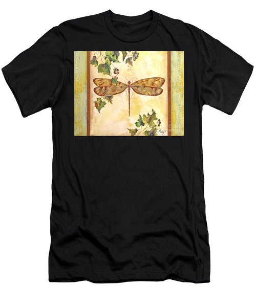 Vineyard Dragonfly Men's T-Shirt (Athletic Fit)