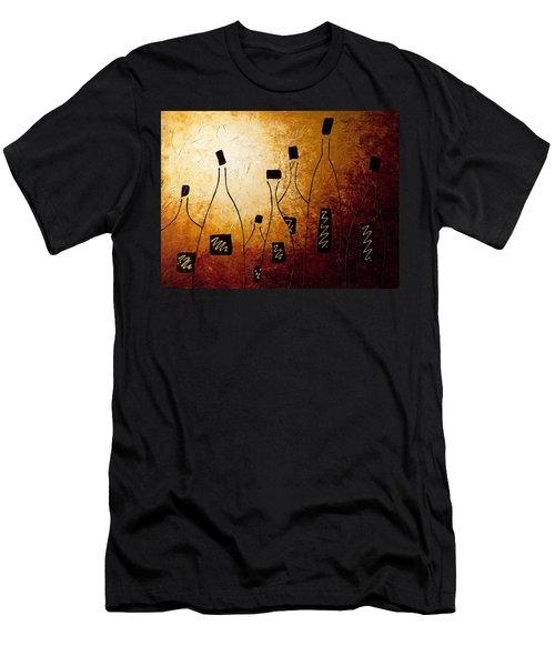 Vins De France Men's T-Shirt (Athletic Fit)
