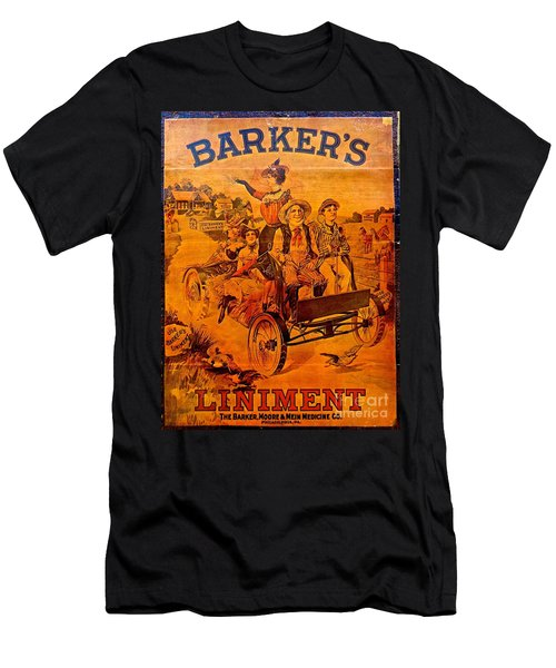 Vintage Ad Barker's Liniment Men's T-Shirt (Athletic Fit)