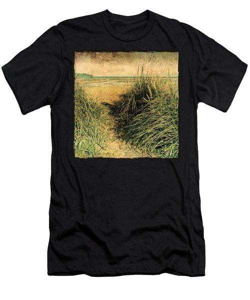 Vintage Beach  Men's T-Shirt (Athletic Fit)