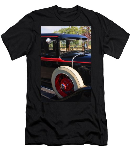 Men's T-Shirt (Athletic Fit) featuring the photograph Vintage Car by Susan Leonard