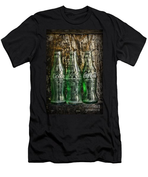 Vintage Coke Bottles Men's T-Shirt (Athletic Fit)