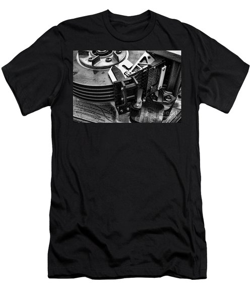 Vintage Hard Drive Men's T-Shirt (Athletic Fit)