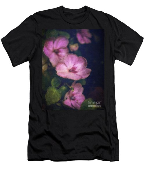 Vintage Impatiens Men's T-Shirt (Athletic Fit)